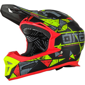 O'Neal Fury RL Casque, zen-neon yellow